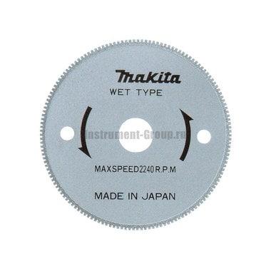 Диск алмазный Makita B-21098 (85х15 мм; д/мокрого реза, д/керамики, стекла)