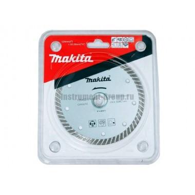 Диск алмазный Makita B-28058 (Turbo; 125х22.23/20,д/стр материалов)