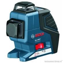 Построитель лазерных плоскостей Bosch GLL 2-80 P + вкладка под L-Boxx (0601063204)