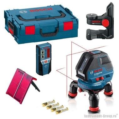 Построитель лазерных плоскостей Bosch GLL 3-50 + BM1 + LR2 + L-BOXX (0601063803)