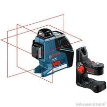 Построитель лазерных плоскостей Bosch GLL 3-80 P + BM1 в L-Boxx (0601063309)