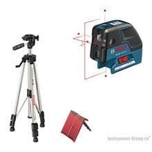 Комби-лазер (линейный + точечный) Bosch GCL 25 + BS 150 (0601066B01)