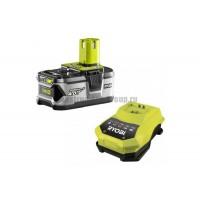 Аккумулятор + зарядное устройство ONE+ Ryobi 3001912(RBC18L40) (18 В; 4 Ач; Li-ion)
