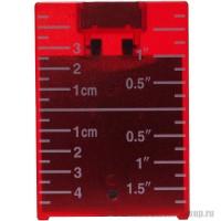 Мишень красная с встроенным магнитом ADA А00210