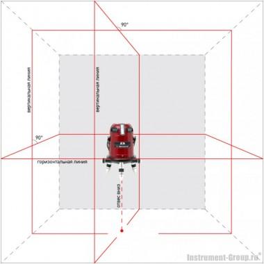 Построитель лазерных плоскостей ADA 6D Servoliner