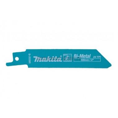Полотно для сабельных пил 5 шт. Makita B-20395 (BIM; 100/0.9  мм; 1.1  мм; для саб. пил JR100D)