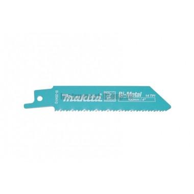 Полотно для сабельных пил 5 шт. Makita B-20410 (BIM; 100/0.9  мм; 2 мм; для саб. пил JR100D)