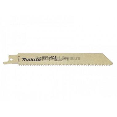 Полотно для сабельных пил 5 шт. Makita B-16807 (HCS; 131/4.2 мм; по дереву)