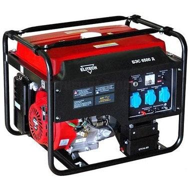 Генератор бензиновый Elitech БЭС 6500 Д
