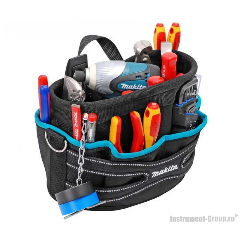 Tool bag organiser 5 gang switched extension lead