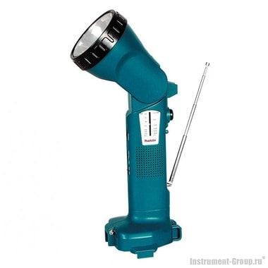 Аккумуляторный фонарь с радио 12 В Makita STEXML124