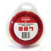 Леска Elitech 0809.003100 (2.4 мм; 15 м; круг)