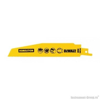 Полотно для сабельных пил 5 шт. DeWalt DT 2303 (BIM; 152/1.8 мм; для метал. листа, профиля)