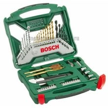 Универсальный набор Bosch X-LINE 50 TITANIUM 2607019327 (50 шт.)
