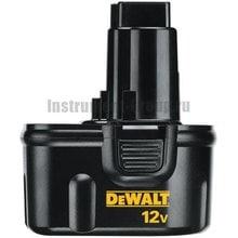Аккумулятор DeWalt DE 9071 (12В; 2Ач; NiCd)