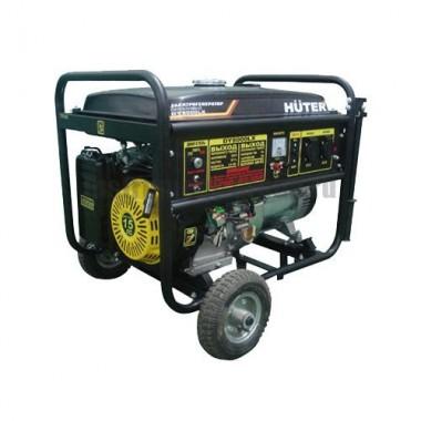 Генератор бензиновый HUTER DY8000LX с колёсами
