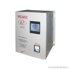 Однофазный стабилизатор напряжения Ресанта АСН-10000 Н/1-Ц Lux (цифровой настенный)