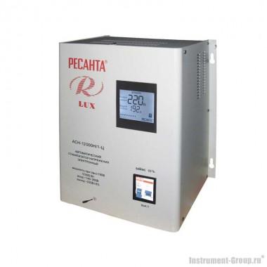 Однофазный стабилизатор напряжения Ресанта АСН-12000 Н/1-Ц Lux (цифровой настенный)