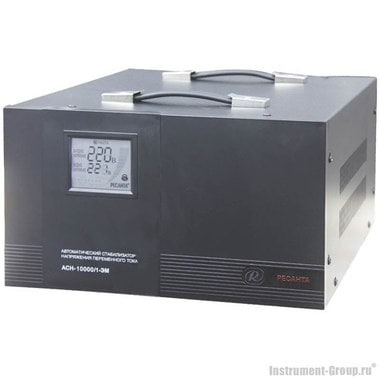Однофазный стабилизатор напряжения Ресанта АСН-10000/1-ЭМ (электромеханический)