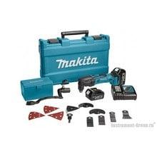 Аккумуляторный многофункциональный инструмент (мультитул) Makita DTM50RFEX2