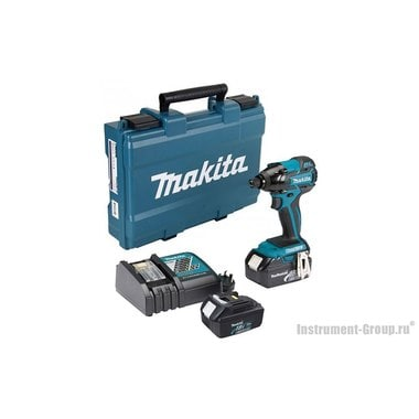 Аккумуляторный ударный шуруповерт Makita DTD129RFE