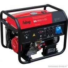 Генератор бензиновый с электростартером и коннектором автоматики Fubag BS 6600 A ES