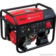 Генератор бензиновый с электростартером и коннектором автоматики Fubag BS 6600 DA ES