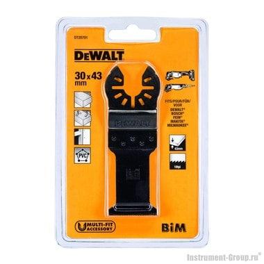 Полотно пильное погружное BIM DeWalt DT 20701 (30х43 мм;  по дереву с гвоздями)