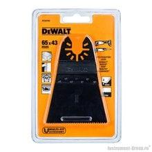 Полотно пильное погружное DeWalt DT 20705 (65х43 мм; по дереву; быстрый рез)