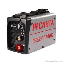 Сварочный инвертор Ресанта САИ 190К (серия КОМПАКТ)