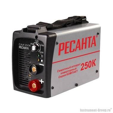 Сварочный инвертор Ресанта САИ 250К (серия КОМПАКТ)