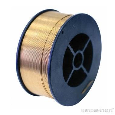 Проволока сварочная стальная омедненная (0.8 мм, 1 кг) Elitech 0606.010000