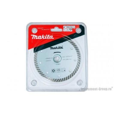 Диск алмазный сегментный  Economy Makita D-50980 (125х22,23 мм; сух. рез для бетона)