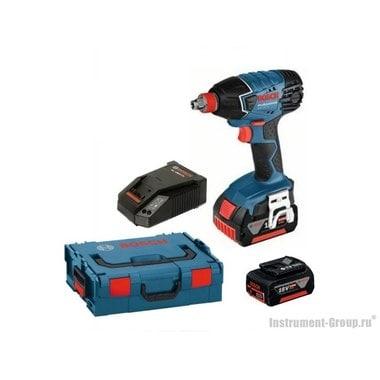 Аккумуляторный гайковерт Bosch GDX 18 V-LI (06019B8104) L-Boxx
