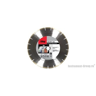 Алмазный диск MS-I (400x30/25.4 мм) Fubag 58847-6