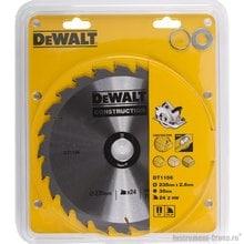 Диск пильный DeWalt DT 1156 (235х30х1.7 мм; 24 зуб.;для стр. материалов)