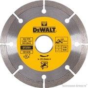Диск алмазный сегментный DeWalt DT 3701 (115х22.2х1.75 мм; для сухого реза стр. материалов)