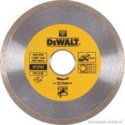 Диск алмазный сплошной DeWalt DT 3703 (115х22.2х1.6 мм; для сухого реза д/плитки,керамики