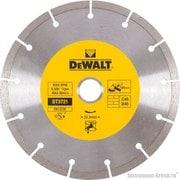 Диск алмазный сегментный DeWalt DT 3721 (180х22.2х2.1 мм; для сухого реза стр. материалов)