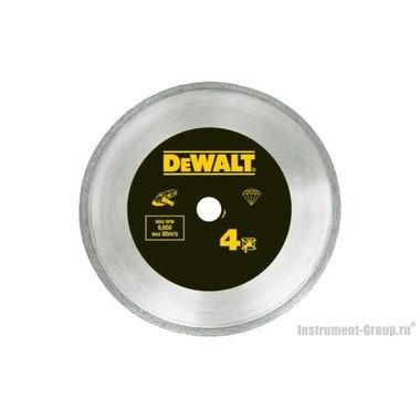 Диск алмазный сплошной DeWalt DT 3736 (125х22.2х1.6 мм; для сухого реза плитки)