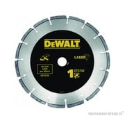 Диск алмазный сегментный DeWalt DT 3742 (180х22.2х2.4 мм; для сухого реза бетон, кирпича, плитки)
