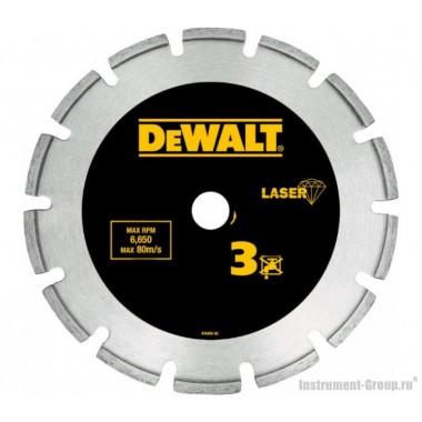 Диск алмазный сегментный DeWalt DT 3762 (180х22.2х2.4 мм; для сухого реза гранита, железобетона)