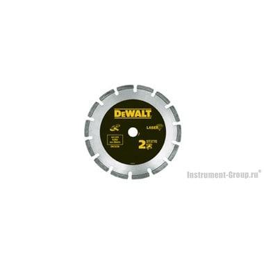 Диск алмазный сегментный DeWalt DT 3770 (115х22.2х2 мм; для сухого реза абразива, бетона)