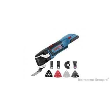 Аккумуляторный многофункциональный инструмент Bosch GOP 18 V-EC (solo) (06018B0001) L-BOXX ready