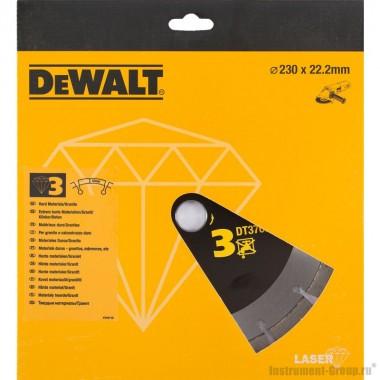 Диск алмазный сегментный DeWalt  DT 3766