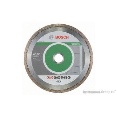 Алмазный диск Standard for Ceramic (180x22,23 мм; 10 шт.) Bosch 2608603233