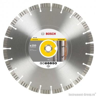 Алмазный диск Best for Universal (350x20/25,4 мм) Bosch 2608602668