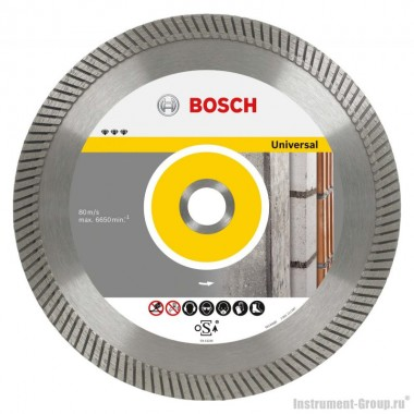 Алмазный диск Best for Universal Turbo (300x22,23 мм) Bosch 2608602676