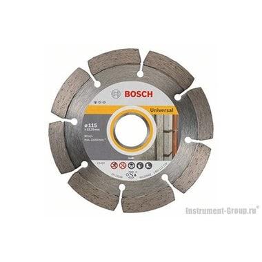 Алмазный диск Standard for Universal (115x22,23 мм; 10 шт.) Bosch 2608603244