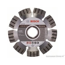 Алмазный диск Best for Abrasive (115x22,23 мм) Bosch 2608602679